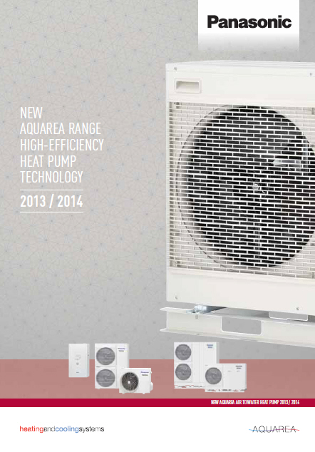 PANASONIC - Aquarea 2013