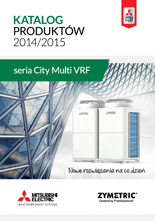 MITSUBISHI ELECTRIC - seria CITY MULTI 2014/2015