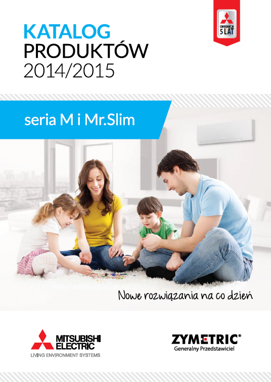 MITSUBISHI ELECTRIC - seria M i Mr. SLIM 2014/2015