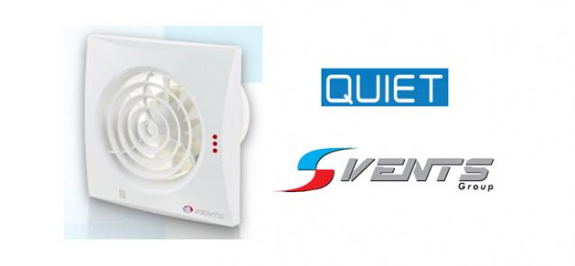Nowy cichy wentylator QUIET Vents Group