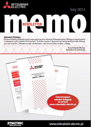 MEmo - newsletter Mitsubishi Electric 02/2013