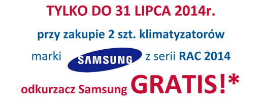 Centrum Klima: Letnia oferta Samsung