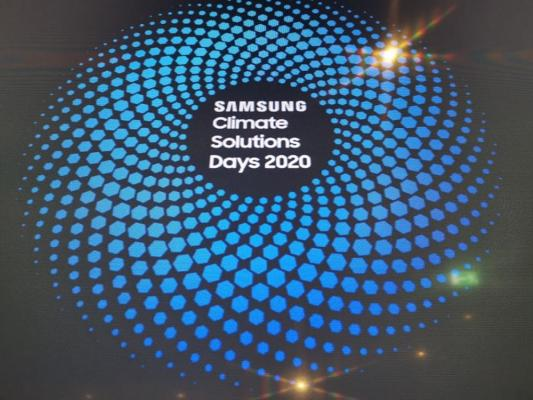 Samsung Climate Solutions Days 2020